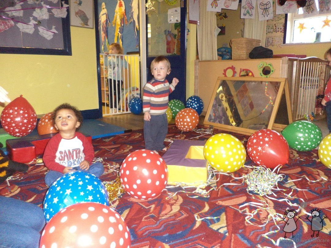 Fun at Happy Days Childcare in Suffolk