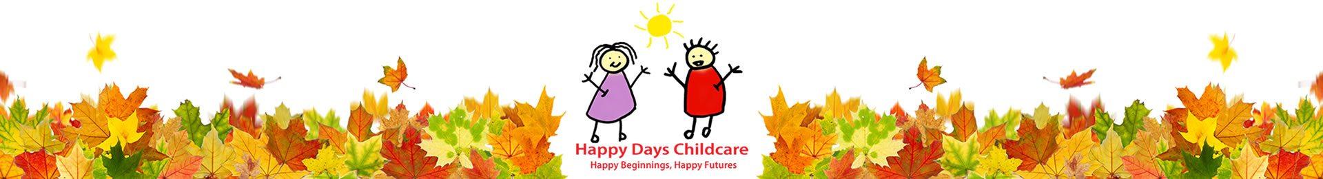 Happy Days Childcare Nursery Woodland Wanderers