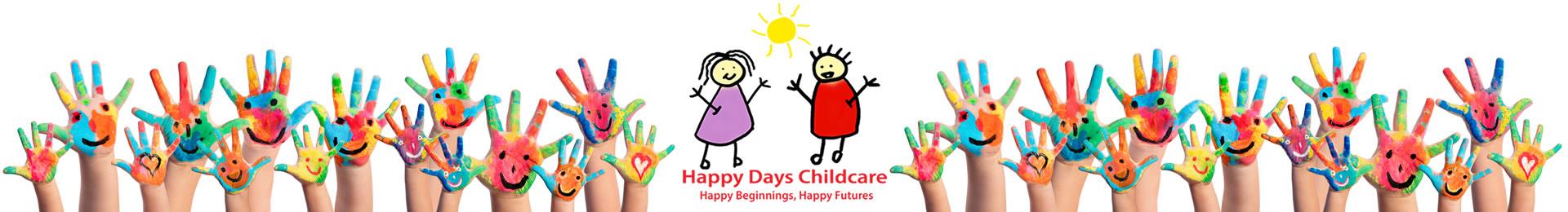 Happy Days Childcare Nursery based in Suffolk