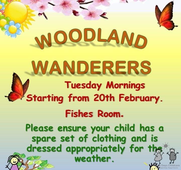 Woodland Wanderers Spring 2018