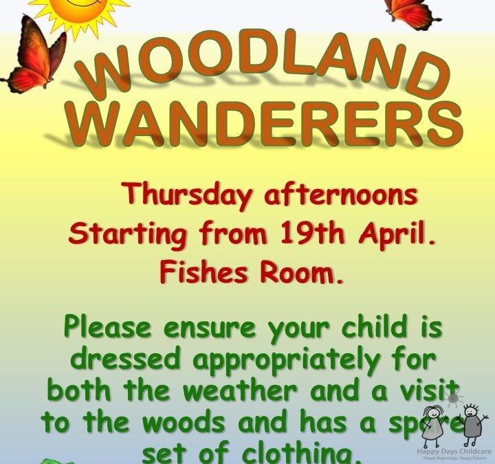 Woodland Wanderers Summer 2018