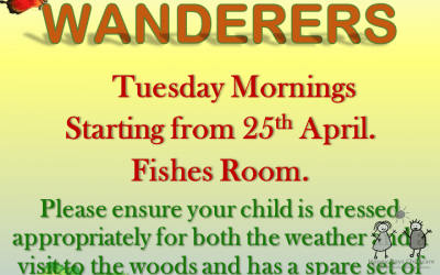 Spring Term at Woodland Wanderers