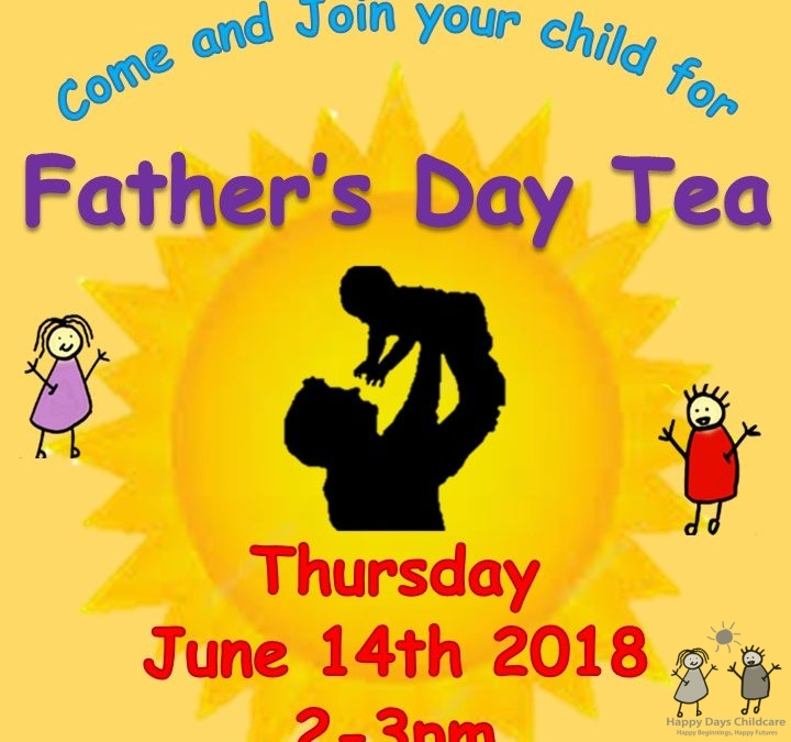Fathers Day Tea Party