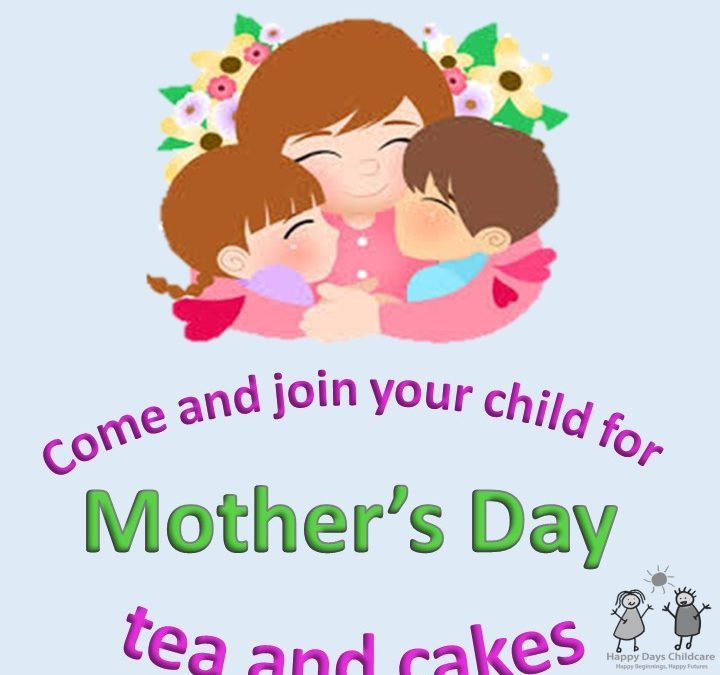 Cake & Tea party for Mother's Day