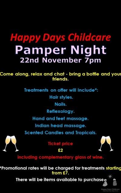 Pamper Night
